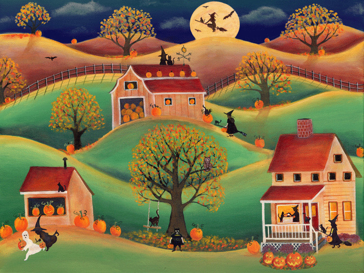 Halloween Pumpkin Farm - Cheryl Bartley